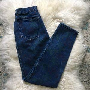 Vintage Jordache | tapered mom jeans | 28